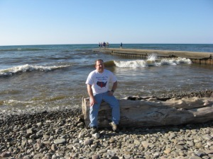 Me at Lake Ontario